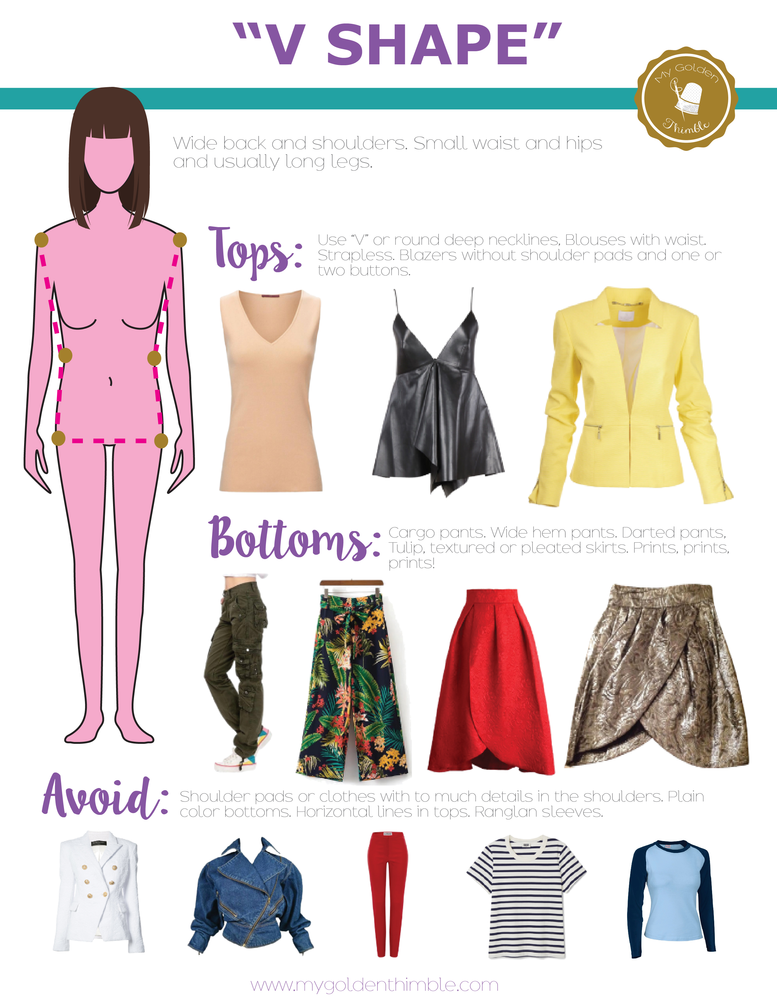 What is my body shape? Dress accordingly to it    My Golden