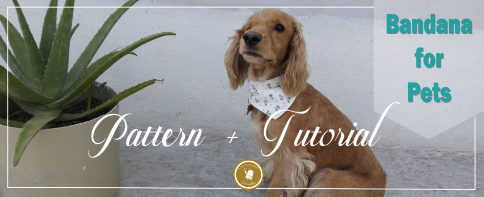 Free Dog Bandana Pattern Diy For All Sizes My Golden Thimble