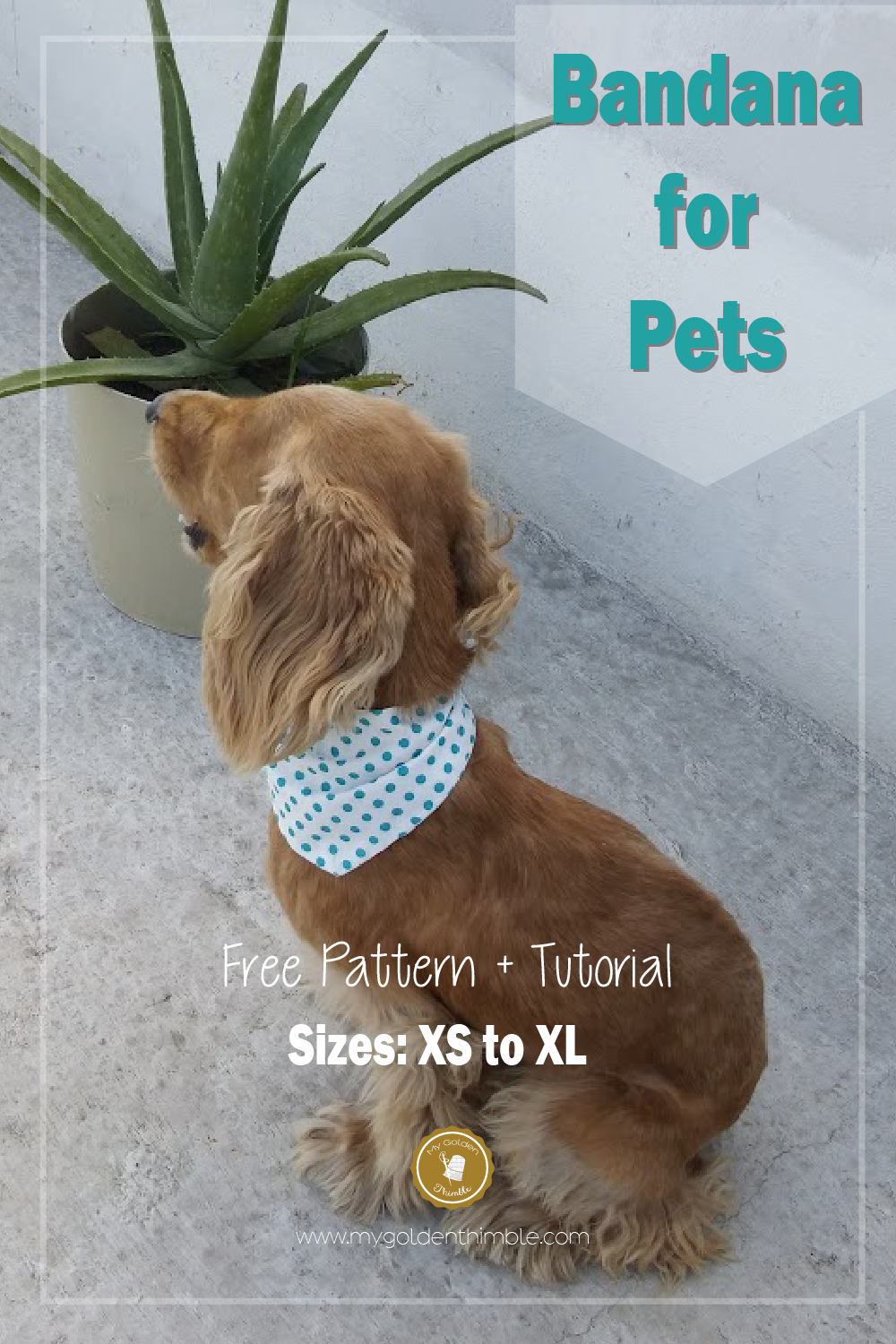how to make a dog pattern