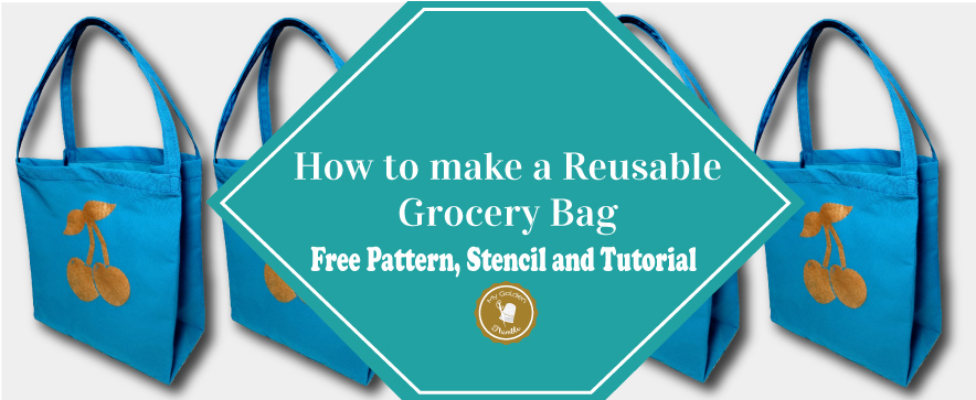 Grocery Bag Diy Tutorial Free Pattern My Golden Thimble