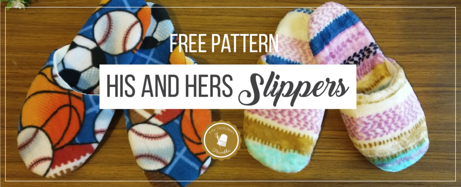 Slippers Free Sewing Pattern And Tutorial My Golden Thimble