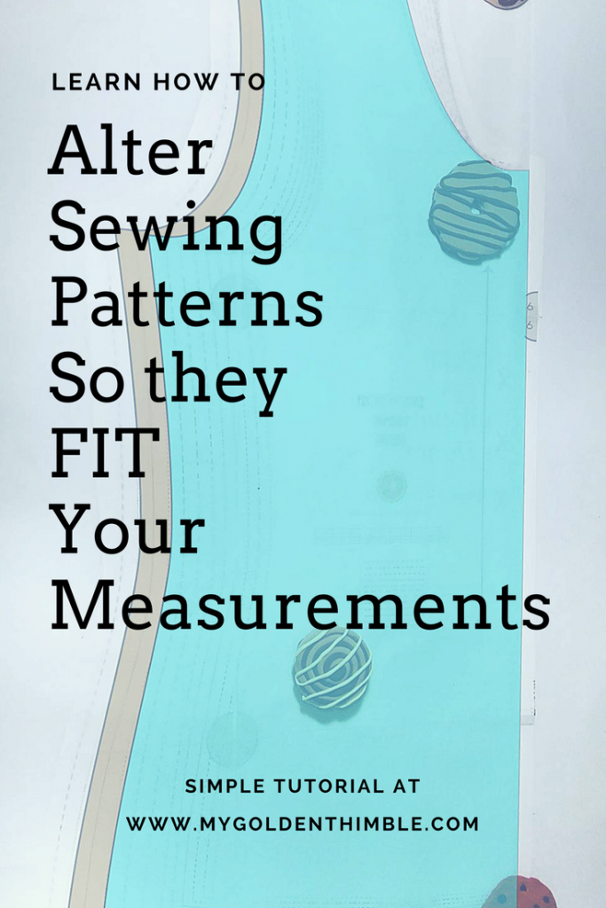 Make Patterns Fit your body. A Simple guide to Grade between sizes ...