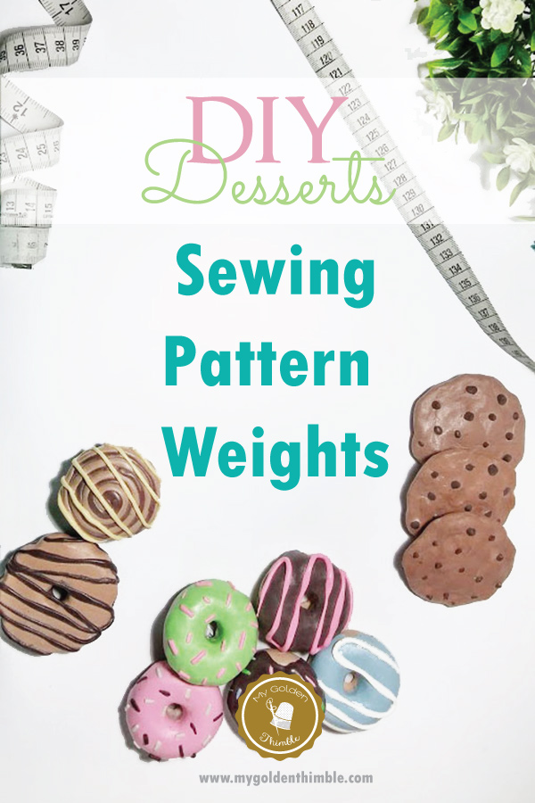 The Cutest DIY Sewing Pattern Weights.   My Golden Thimble