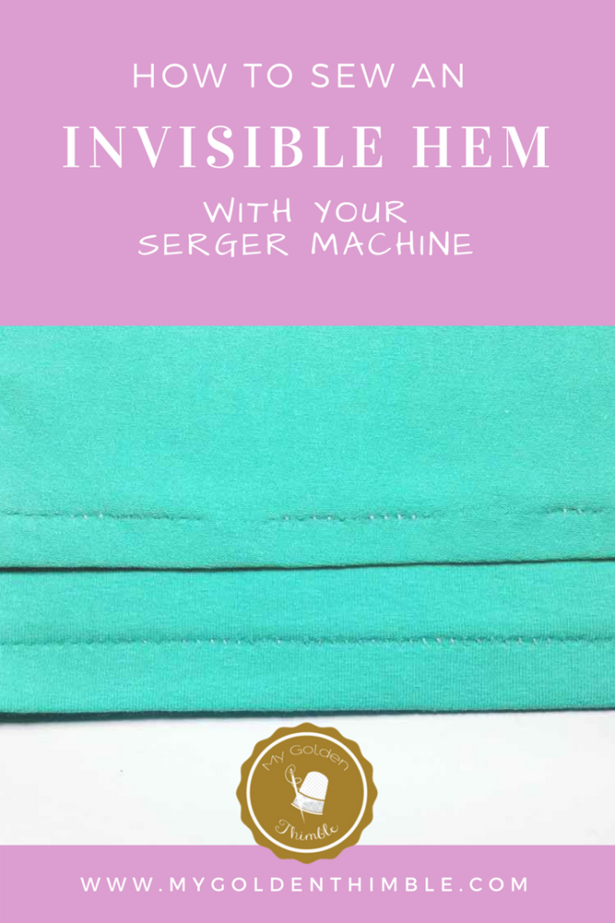 The Quickest & Easiest Way To Blind Hem with Serger Machines