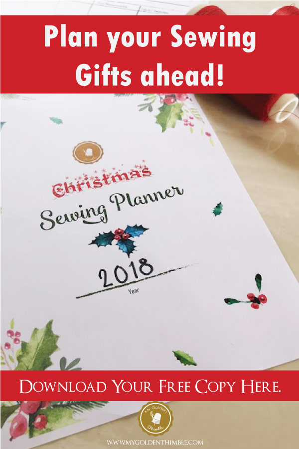 with this christmas sewing planner you will be able to see on a very organized way all your sewing plans for this christmas you will have control over