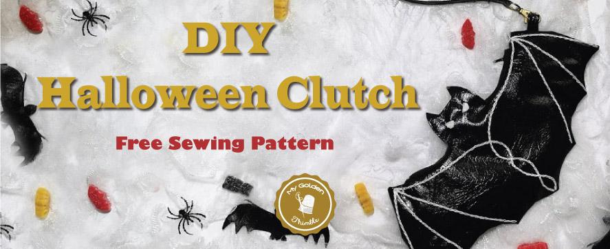 Fancy Halloween Clutch Diy Free Pattern And Tutorial My Golden