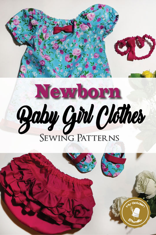 2cabd5d73a989 DIY Baby Shower Gifts for girls with free patterns. You can make the best  gift