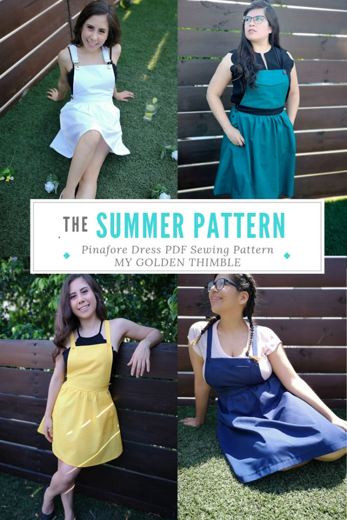 Pinafore Dress Pattern for Women  Instant Download | My